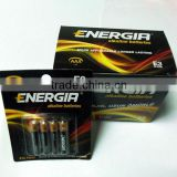 CIS countries market Energia brand Alkaline Battery AA LR6/AM-3