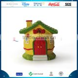 Resin Customized House Model Rabbit Statue Figurine Polyresin Easter House Model Decoration