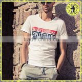 Wholesale Mens Round Neck Custom Screen Printed Tshirts