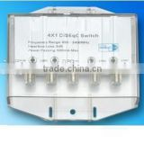 4 in 1 Waterproof Satellite Switch DiSEqC with indicator lights ,DISEQC 4x1 diseqc JC-4101L