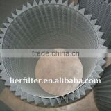 sintered no --woven metal fiber felt
