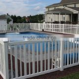 Hot sale vinyl fencing for pool, 100% virgin material