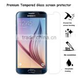 Nano coating 9H Surface Hardness Premium tempered glass screen protective film for Samsung Galaxy S6