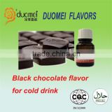 Black chocolate cold drink food flavor/food flavour/food essence