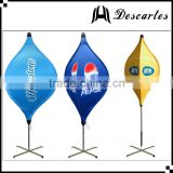 100% waterproof polyester custom spinning banners, lighted lantern flags for advertising