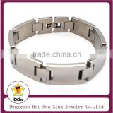 2015 Most Popular In Wester Fashion Bio Magnetic Titanium Stainless Steel Healthy Care Wide Mens Bracelet Jewelry Wholesales