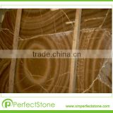 Sell China Brown Onyx marble tile slabs