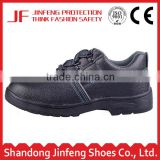 black leather rubber sole industrial safety shoes construction safety work shoes ce autumn steel toe injection safety footwear