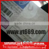 Security paper with watermark printing