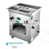 High quality home and business stainless steel full automatic/frozen meat slicer/P3