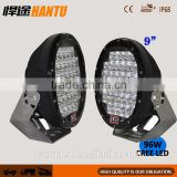 motorcycle 7inch headlight 1.5inch round bike led work light high beam spot beam led work light