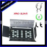 warm white and white led surface light high power 24pcs 5W LED Wall washer light with barn door