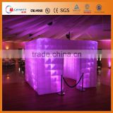 inflatable wedding photo booth enclosure /inflatable led photo booth for weddings