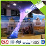 sublimation transfer printing on polyester 4 way stretch backlit fabric for led light box display