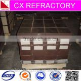 Magnesia chrome bricks refractory bricks for secondary refining furnace RH VOD AOD SKF LF