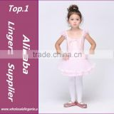 Ballet Dress For Children Gauze Gymnastics Leotard For Girls Kids Gown Classical Tutu Leotards pink Swan Costume