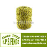 (Chian manufacture) Good conductivity PE UV resistance electric fence plastic twine for fence