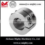 "power transmission - Stainless Steel Shaft Collar for Industrial Machines Bore Range from 1/8"" to 4-15/16"""
