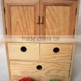 Wooden crafts Recycled solid reclaimed wood ambry furniture for New design