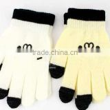Hot selling touch screen winter gloves for smartphone, cheap knit gloves, hand gloves manufacturers in china