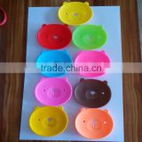 FDA Standard various shape silicone Soap molds/ Soap silicone mat/stable price easy cleaning soap holder