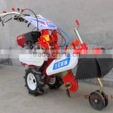 Small farm machine two wheel farm plough equipment