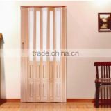 indoor PVC folding door, pvc toilet door,pvc interior folding door,toilet pvc door design