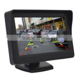 "Car 4.3"" TFT LCD Color Rearview Monitor for DVD GPS Reverse Backup Camera"