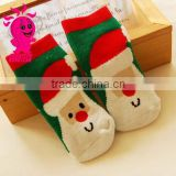Cotton christmas socks for children snowman santa deer unisex cozy christmas sock baby christmas socks