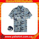 Newest beautiful camouflage polo shirts