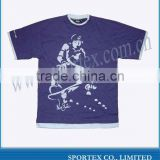 2012 new casual t-shirt for young man