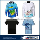custom-made 3d printing fishing suits/fishing active wear