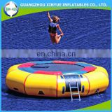 Hot sale giant cheap inflatable water trampoline/ inflatable floating water park for sale