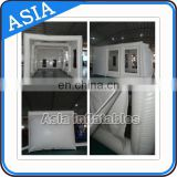 cheap outdoor advertising customized inflatable spray booth for event