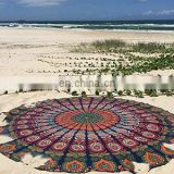 Indian Round Beach Throw / Towel - Tapestry Bohemian Cotton towel