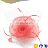 New Coming Fashion Feather Headwear Hat Lady Wedding Accessories Handmade Tea Party Hair Fascinators