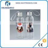 420ml Glass Bottle with White Patch