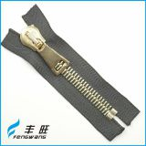 Top sale decent fancy metal zipper zips