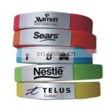 Silicone Wristbands With Metal Buckle
