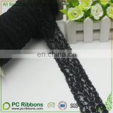 african chiffon flower lace trim for bra or underwear