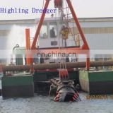 500 cbm/h cutter head suction dredger for sale