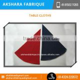 Light Weight Eco-friendly Material Made Cotton Table Cloth