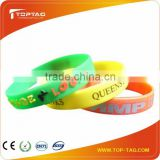 13.56Mhz custom colorful Rfid wristbands, passive active rfid wristband                                                                         Quality Choice