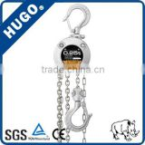 China supplier 20t stainless steel chain manual hand winches hoists