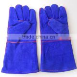Popular Safety welding leather gloves from glove factory