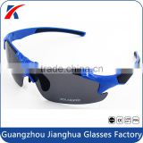 Unbreakable frame PC lens UV400 polarized blue light blocking sun glasses