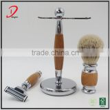 Hot Selling Silvertip Badger Hair OEM Men Shaving Brush Set