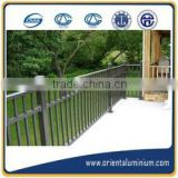 High quality aluminum handrail for stairs