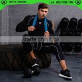 (OEM ODM FACTORY/Trade Assurance)sports tracksuit men, mens compression wear,polyester rash guard