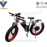 2016 Fat Electric Bicycle China 26inch Lithium Battery colored electric snowmobile snow fat tire electric bike                                                                         Quality Choice